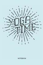 Yoga Time Notebook