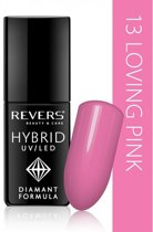 REVERS® Hybrid Nail Polish UV/LED 6ml. #13 Loving Pink