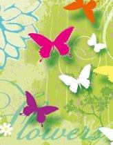 Servet met vlinders