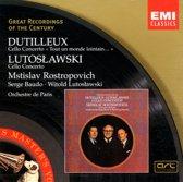 Dutilleux & Lutoslawski: Cello