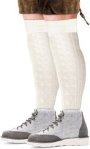 Tiroler sokken wit maat 43/46