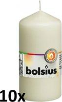 Bolsius Stompkaars - 120/60 mm - 10 stuks - Ivoor