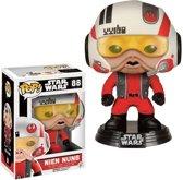 Funko Pop! Fans Star Wars: The Force Awakens Nien Nunb With Helmet Le - Verzamelfiguur