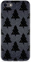 iPhone 8 Hoesje Snowy Christmas Trees