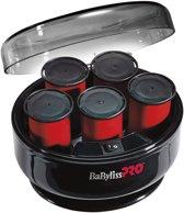 Babyliss PRO Krulset - Big Curls - 5 jumbo rollers 40 mm zwart 200W