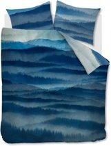 Beddinghouse Mountain View - Dekbedovertrek - Lits-jumeaux - 240x200/220 cm + 2 kussenslopen 60x70 cm - Blue