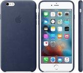 Apple Lederen Back Cover voor iPhone 6/6s Plus - Midnight