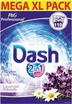 Dash 2 in 1 waspoeder Lavendel - 110 wasbeurten