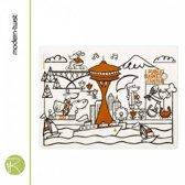 Placemat - Kids - Modern Twist - Mark Matz - seattle - 40 x 32 cm