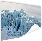 FotoCadeau.nl - Gletsjer berg  Poster 150x75 cm - Foto print op Poster (wanddecoratie)