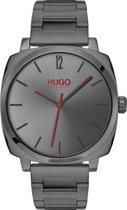 HUGO HU1530097 #OWN - Polshorloge - Staal - Grijs -  Ø 40 mm