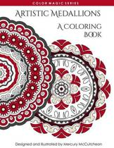 Artistic Medallions a Coloring Book
