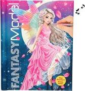 TOPModel FANTASYModel kleur- en stickerboek met licht en geluid