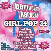 Party Tyme Karaoke: Girl Pop, Vol. 34