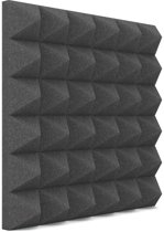 Piramide akoestisch studioschuim 30x30cm 5cm dik (48 stuks)