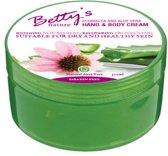 Betty's Echinacea En Aloe Vera - Hand & Body Crème - 300ML Voor veel huidproblemen