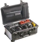 Peli 1514 Black Divider Studio Case Koffer