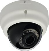 LevelOne FCS-3064 IP security camera Dome Zwart, Wit