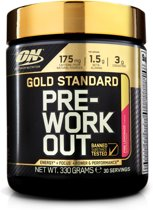Optimum Nutrition Gold Standard Pre-Workout - 30 servings - Pink lemonade