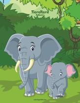 Tiereltern-Malbuch 1