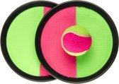 Lg-imports Vangspel Klittenband Roze/groen 20 Cm