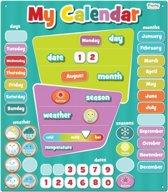 Fiesta Crafts Magnetic My Calendar - Blue