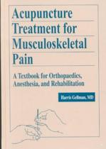 Acupuncture Treatment for Musculoskeletal Pain