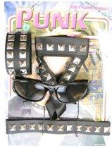 Punkset 4 delig op kaart inclusief bril