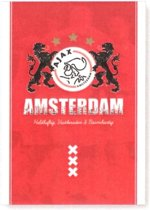 Schrift Ajax rood leeuwen - A4 gelijnd
