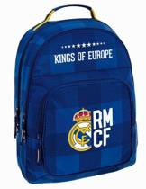 Real Madrid Kings of Europe Rugzak - 42 cm - Blauw