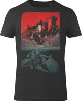The-Witcher-T-shirt-met-korte-mouw-zwart - Maat XL
