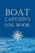 Boat Captains Log Book: Boating Excursion Journal Record and Expense Tracker