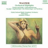 Wagner: Orchestral Highlights / Wildner, Polish National RSO