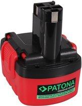 PATONA Premium Battery f. Bosch BAT038 AHS 41 ART 26 EXACT 700 GDR 14 12 V 14.4V GDS 14 12 V