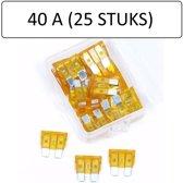 ES Steekzekeringen 40 ampere Oranje (25 Stuks)