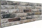 6 panelen (3 M2) 100 x 50 cm 3D wandpanelen, kunst steenstrips, wandbekleding, kunststof steenstrip