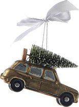 Riviera Maison Kersthanger - Christmas Shooting Brake Car Ornament
