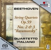 Streichquartette Op.59 2 & 3