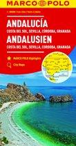 Marco Polo Andalusië - Costa del Sol 1:200.000