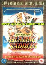 DVD cover van Blazing Saddles [DVD]