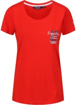 Regatta-Filandra III-Outdoorshirt-Vrouwen-MAAT S-Rood