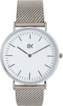 BK AMSTERDAM - Classic White Amstel Horloge