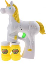 Jonotoys Bellenblaas Machine Unicorn Met Licht Wit