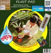 21x PlantPads 9 cm - Watervasthoudende biogel met plantenvoeding