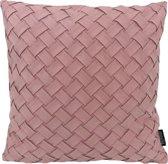 Nexa Suedine Roze Kussenhoes   Polyester - Imitatie Suède   45 x 45 cm