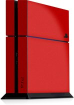 Playstation 4 Console Sticker Faded Rood-PS4 Skin