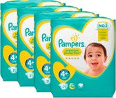 Pampers Premium Protection - Maat 4+ (10-15 kg) - 84 luiers (4x21)