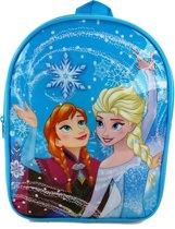 Disney Frozen Rugzak - Blauw - 24 X 9 X 30 cm - 7 liter
