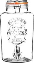 Kilner Drankdispenser - Met kraantje - In cadeauverpakking - 5L