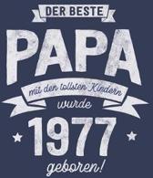 Der Beste Papa wurde 1977 geboren: Wochenkalender 2020 mit Jahres- und Monats�bersicht und Tracking von Gewohnheiten - Terminplaner - ca. Din A5